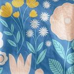 Jardin secret bleu